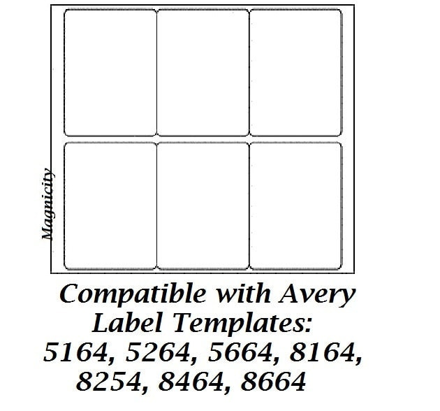 Free avery 174 template for microsoft word id label 5164 for Avery label 8164 template