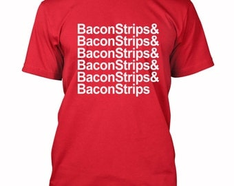 Bacon Strips and Bacon Strips T-shirt Bacon lover Tee Shirts S-3XL