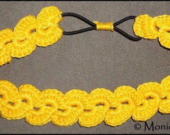 Crochet PDF Pattern Colorful Headband