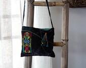 Shoulder Bag Vivid natural nature & colorful ethnic Unique Shoulder Bag Ethnic Boho Hipster
