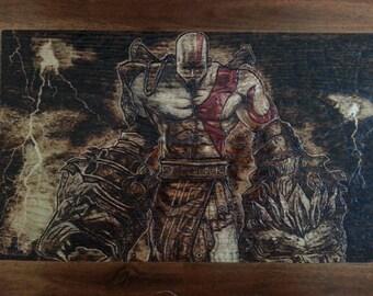 Kratos Wood Burning