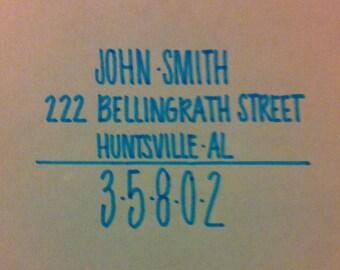 Handwritten Invitation Envelopes Wedding Custom Calligraphy Typography