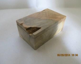 Buckeye Burl Box #B20