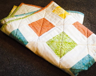 Primary Colors Refreshed Baby Quilt