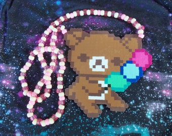 Rilakkuma Bear Kandi Necklace