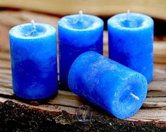 Warding Eye Votive Candle - For protection, spiritual protection, & warding