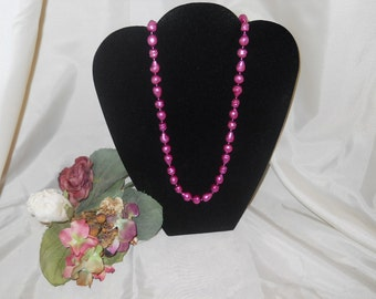 Deep Pink Beaded Necklace Coupon Code