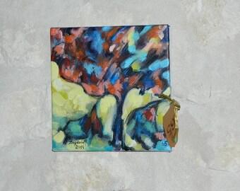"""acrylic painting """"Spring Awakening"""