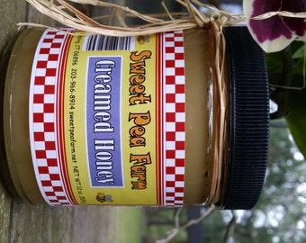 Hand Churned Creamed Honey 12 oz
