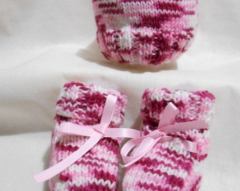 Beanie and Bootee Set