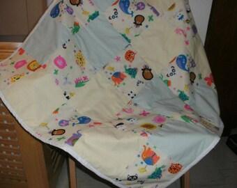 Baby's Patchwork Quilt