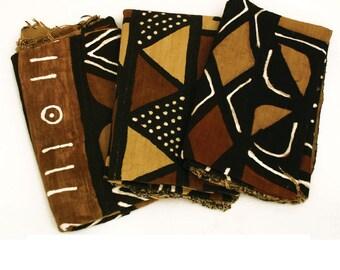 Hand Crafted Mud Cloth Bambara - 4 Color