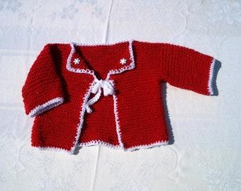 Christmas Baby Sweater