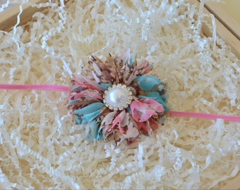 Flower Headband, Infant Headband, Baby Headband