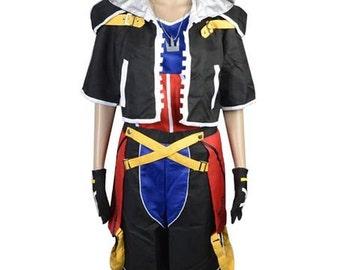 Cosplay Costume Kingdom Hearts II 2 1st Version Sora Costume