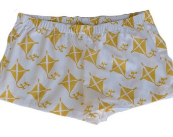 Yellow Kite Boxer Shorts