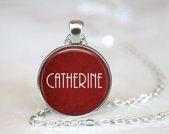 Personalized Jewelry Necklace, Personalized Name Necklace Red, Hollywood Glamorous Necklace, Personalized Christmas Gift, Birthday necklace