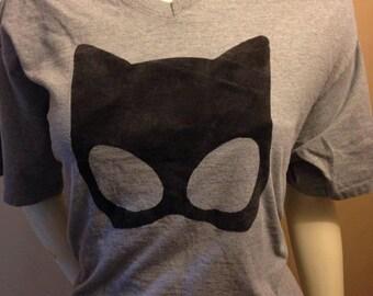 Catwoman Mask Shirt