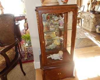 FRENCH CABINET or VITRINE