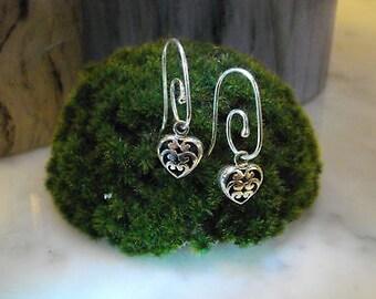 Earrings Mix & Match Heart Love Romance angel wing talisman Pandora Box