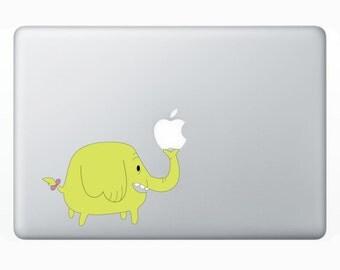 Adventure Time Tree Trunks Macbook Sticker