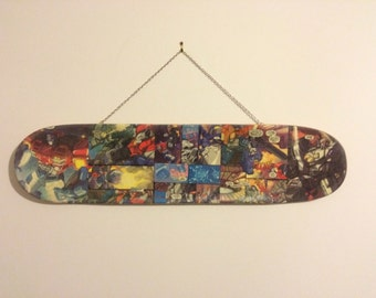 Decorative Decks offers one of kind skateboard deck art. From anything to comic books, photos to movie posters!