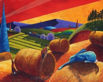 Harvest, limited edition giclee print