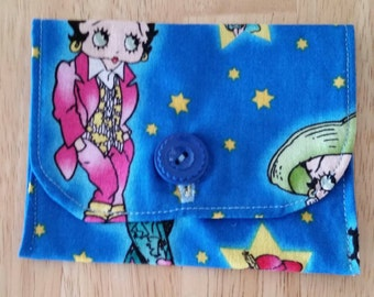 Betty Boop Gift Card/Cash/Credit Card/Jewelry Pouch