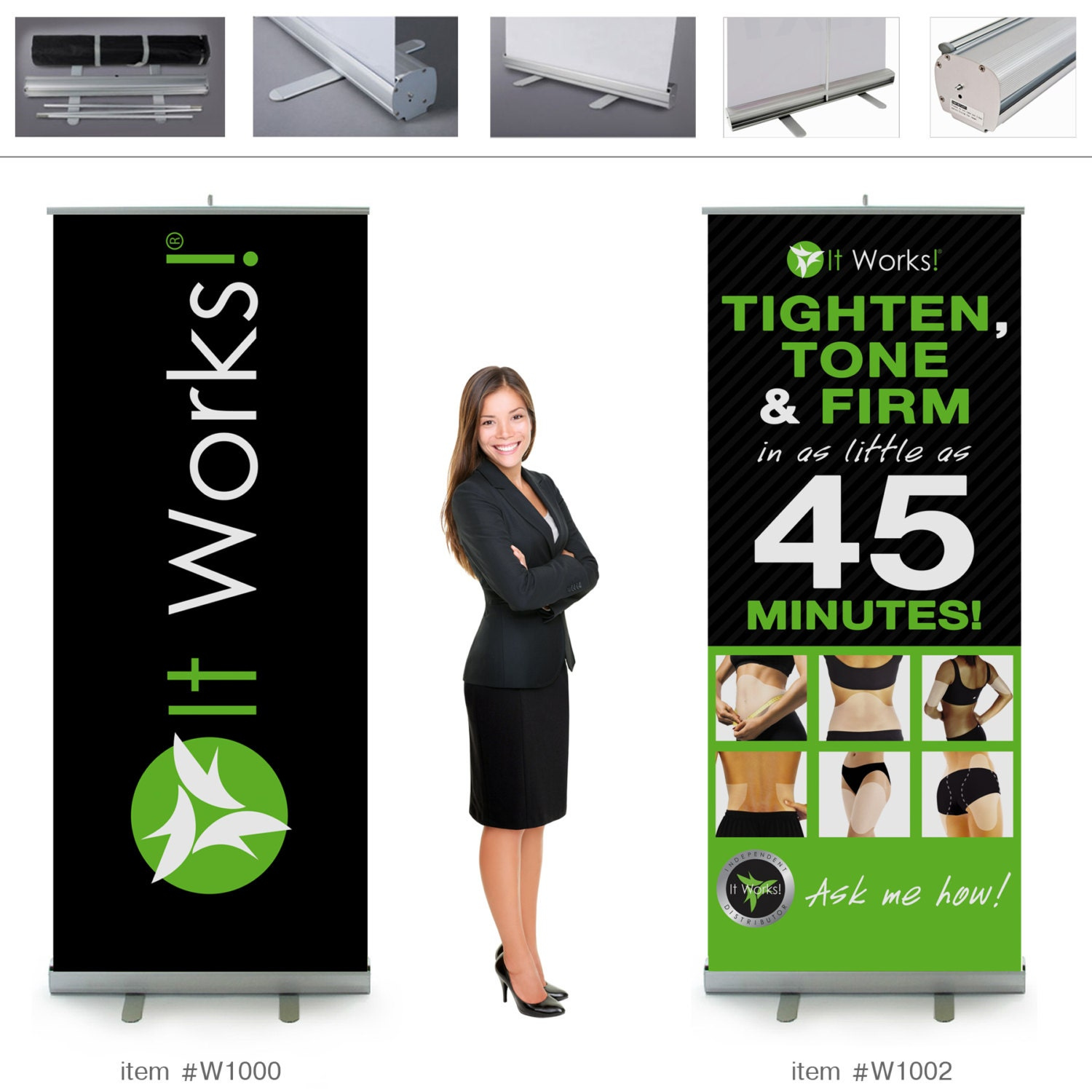 It works global wraps retractable banner 7ft tall 2 by dalmen for Banner wrap