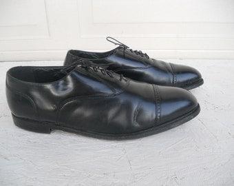 Vintage Men's Black Florsheim Tie Dress Shoes Size13