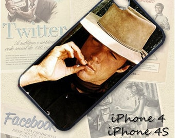 Clint Eastwood cell phone Case / Cover for iPhone 4, 5, Samsung S3, HTC One X, Blackberry 9900, iPod touch 4 / 082