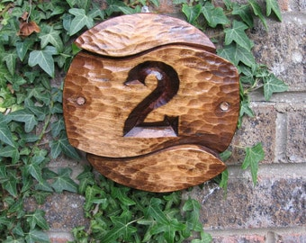 address numbers, house numbers, house number plaque, craftsman house numbers, outdoor house numbers, wood carving sign for your house