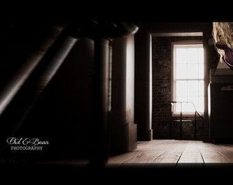 Seeing Ghosts,Handmade Greeting Card, Blank  Inside, Fine Art Photography, 5x7 card 4x6 photo, Home Decor