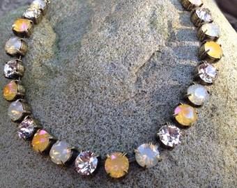 Beautiful swarovski crystal necklace