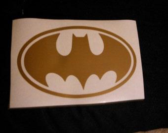 Bat Symbol Decal