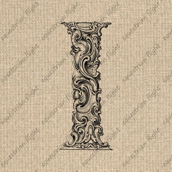 Items similar to instant download antique ornate