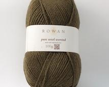 Rowan Pure Wool Worsted Machine Washable Yarn - Cocoa Bean 00105