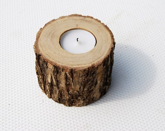 Candle Holders Wedding Decoration Reclaimed Elm Tree