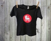 Heavy Metal Fan Tshirt for Baby. Perfect for fans of rock!
