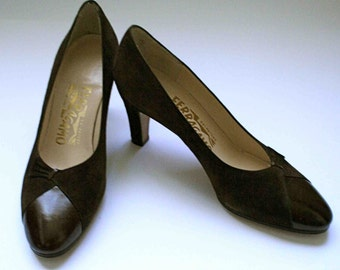 shoes vintage Salvatore Ferragamo T35, 5