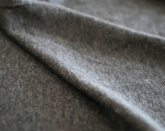 Japanese Fabric Double Knit Gray