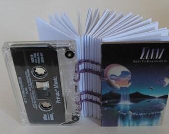 "Yanni ""Keys to Imagination"" album - Cassette Tape Notebook"