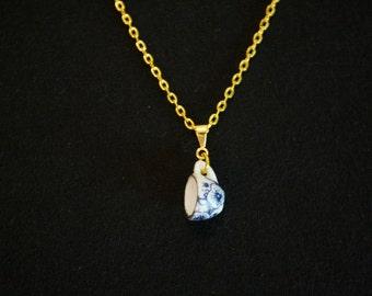 Porcelain cup necklace