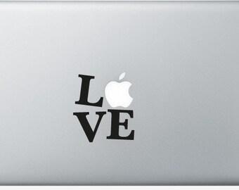 Stickers Macbook 11-13-15-17 inches - LOVE