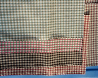 Multi checkered Fabric Pieces- C4