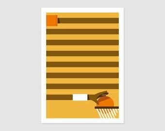 Print - Displays Basketfever No6 - 50 x 70