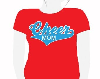 CHEER MOM Custom Vinyl Tshirt