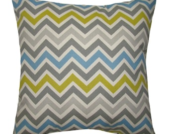 Premier Prints Zoom Zoom Summerland Natural  Zig Zag Chevron Stripe Print Home Decor Decorative Throw Pillow Cover