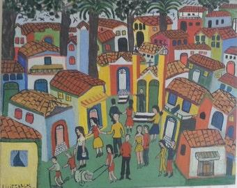 Primitive Brazilian Painting
