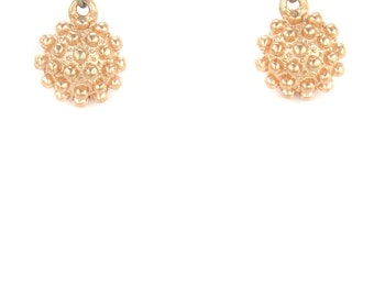 Birdhouse Jewelry - Pink Gold Mace Earrings